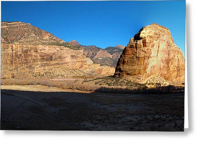 Steamboat Greeting Cards - November Canyon Dawn Greeting Card by Joshua House