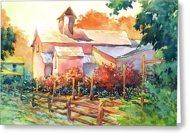 Township Greeting Cards - Now Its A Winery No 1 Greeting Card by Virgil Carter