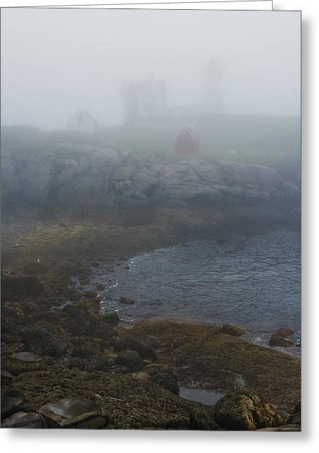 Maine Coast Greeting Cards - Nubble Light Greeting Card by Joseph Smith