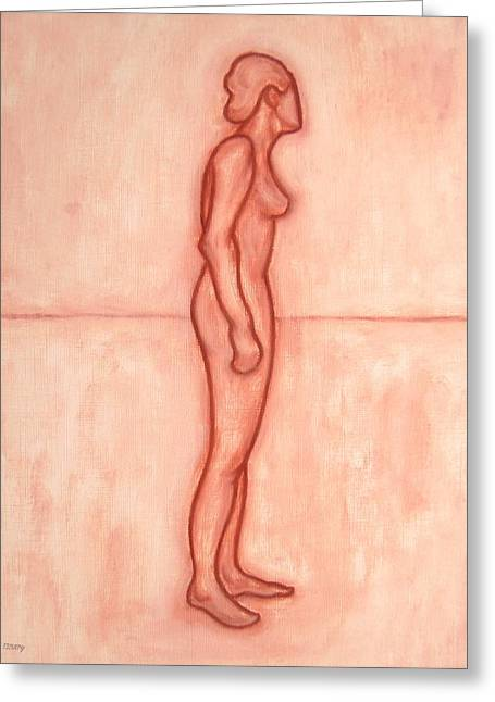 Decorative Nude Greeting Cards - Nude 11 Greeting Card by Patrick J Murphy