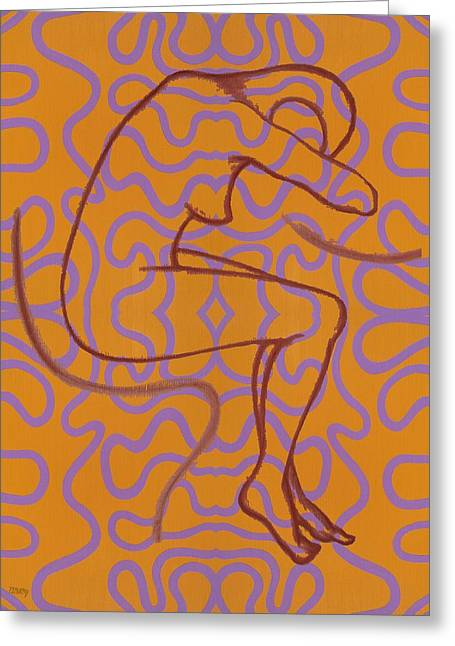 Decorative Nude Greeting Cards - Nude 13 Greeting Card by Patrick J Murphy