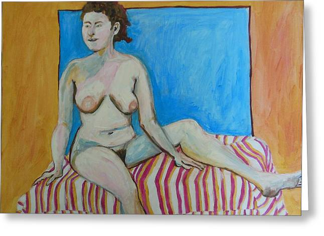 Posters Of Nudes Greeting Cards - Nude Celebration Greeting Card by Esther Newman-Cohen