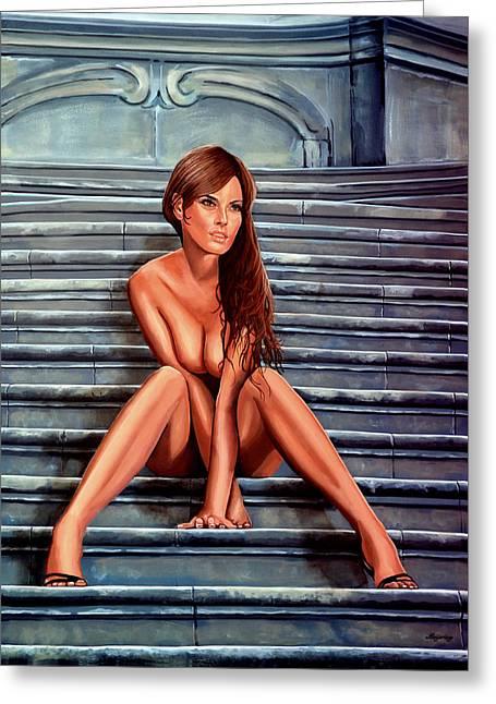 Nude City Beauty Greeting Card by Paul Meijering
