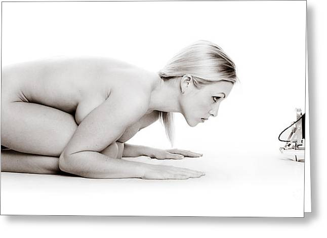 Photos Fitness Greeting Cards - Nude Photography Greeting Card by Jt PhotoDesign