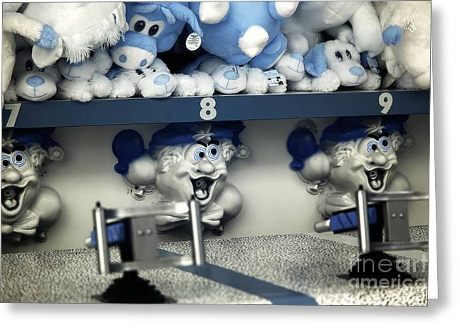 Seaside Heights Greeting Cards - Number 8 infrared Greeting Card by John Rizzuto