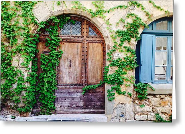 South Of France Greeting Cards - Numero Deux Greeting Card by France  Art