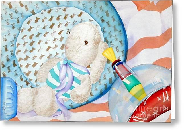 Bryant Paintings Greeting Cards - Nursery  Greeting Card by Carla Jo Bryant