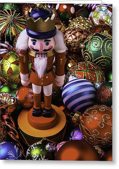 Many Faces Greeting Cards - Nutcracker Greeting Card by Garry Gay