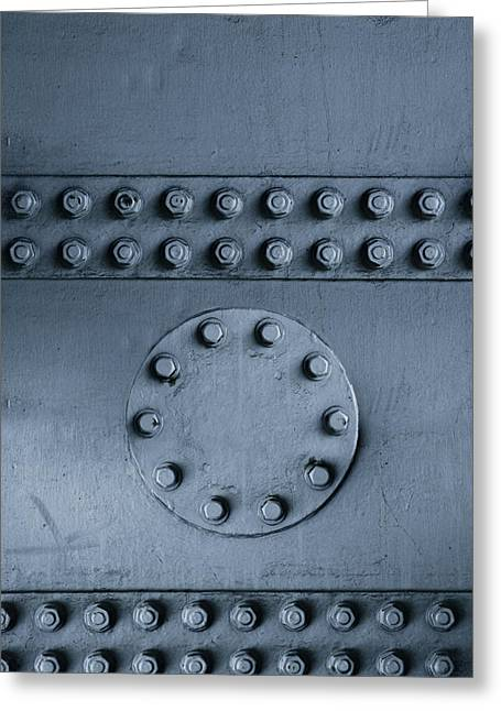 Structural Greeting Cards - Nuts and bolts Greeting Card by Les Cunliffe