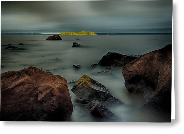 Canon Eos 6d Greeting Cards - Nuttall Island Last Sunlight Greeting Card by Jakub Sisak
