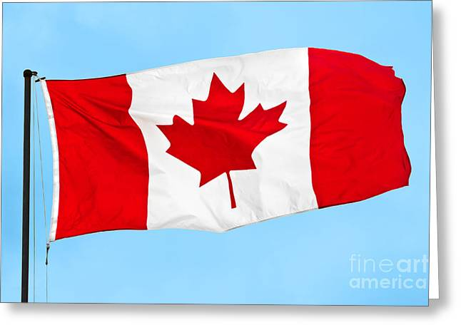 O Canada Greeting Card by JR Photography