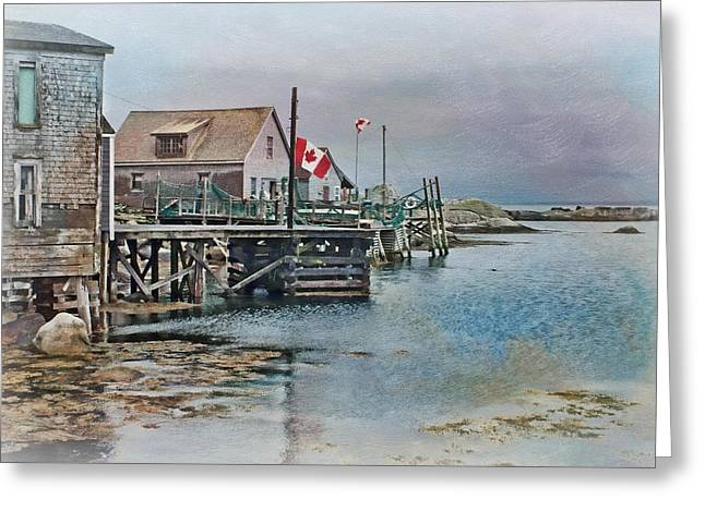 Best Sellers -  - Overcast Day Greeting Cards - O Canada Greeting Card by Nikolyn McDonald