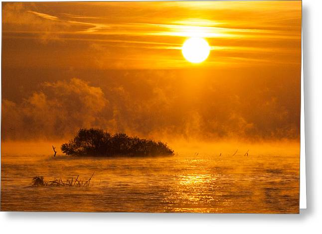 Layers Greeting Cards - O happy day Greeting Card by Davorin Mance
