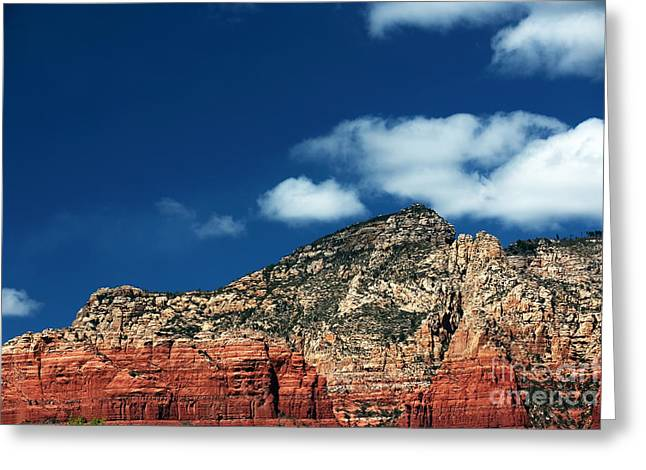 Oak Creek Greeting Cards - Oak Creek Blues Greeting Card by John Rizzuto