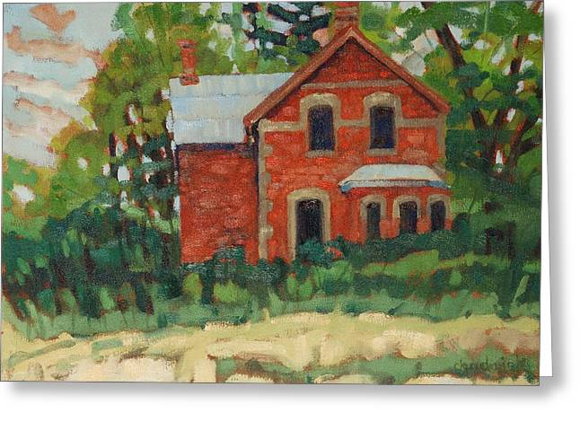 Canada Greeting Cards - Oak Ridges Homestead Greeting Card by Phil Chadwick