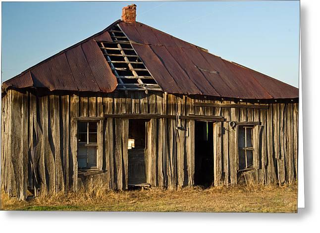 OAlOld House Place Arkansas Greeting Card by Douglas Barnett