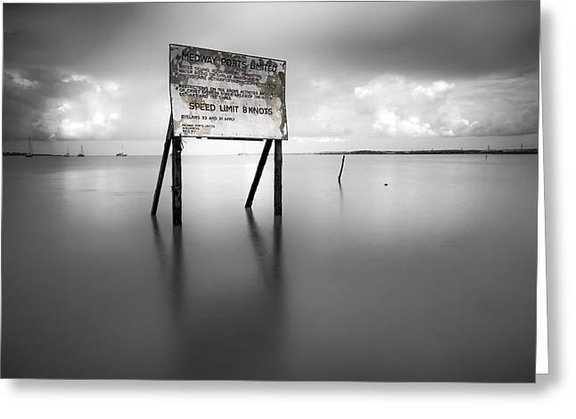 Reserve Greeting Cards - Oare Seascape Greeting Card by Ian Hufton