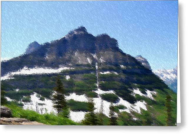Oberlin Mountain Greeting Card by Kevin Bone