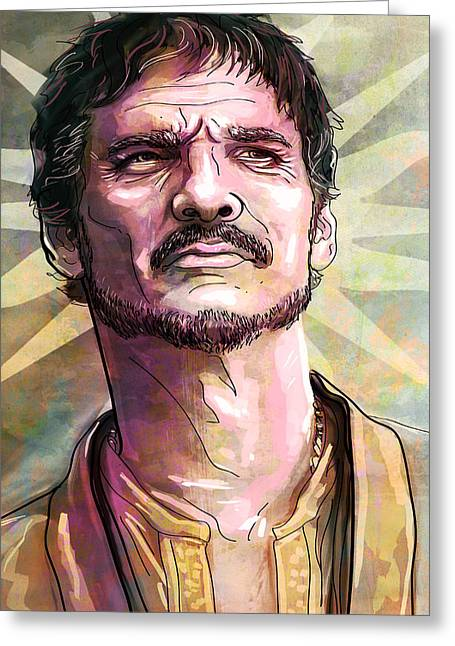 In Memoriam Greeting Cards - Oberyn Greeting Card by Jeremy Scott