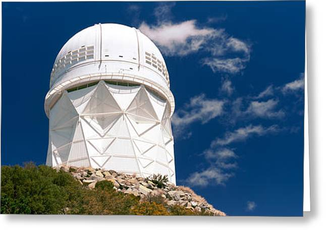 Observatory Greeting Cards - Observatory On A Hill, Kitt Peak Greeting Card by Panoramic Images