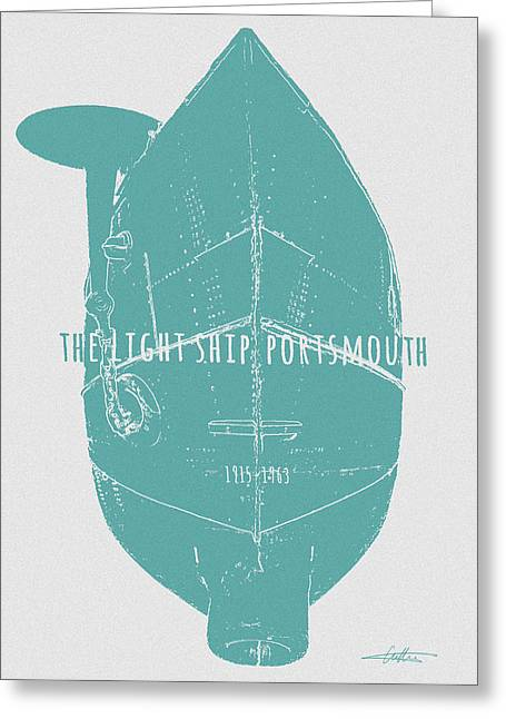 Ocean Art Photos Greeting Cards - Obsolescent Incandescence  Greeting Card by Alfred Cutting