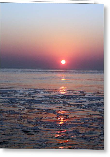 Carolyn Stagger Cokley Greeting Cards - OC sunrise1 Greeting Card by Carolyn Stagger Cokley
