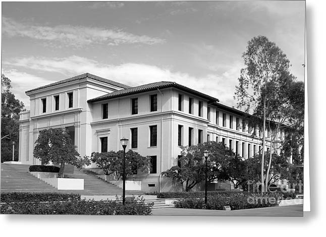 Liberal Arts Greeting Cards - Occidental College Fowler Hall Greeting Card by University Icons