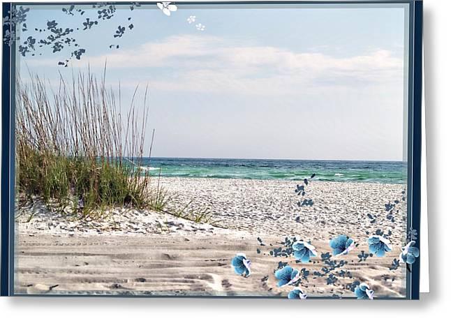Ocean Breeze Greeting Card by Athala Carole Bruckner