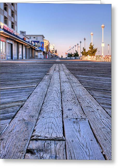 Tourists Greeting Cards - Ocean City Greeting Card by JC Findley