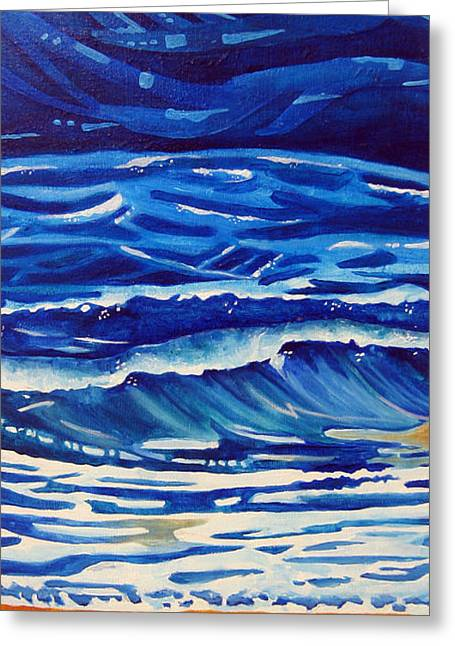 Dawnstarstudios Greeting Cards - Ocean Greeting Card by Dawnstarstudios