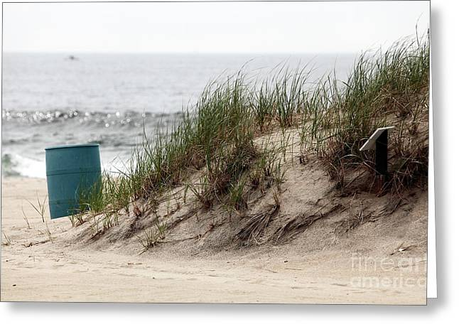 Ocean Grove Dune Greeting Card by John Rizzuto