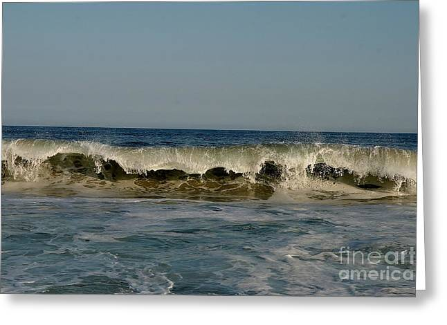 Natures Photos Greeting Cards - Ocean Harmony Greeting Card by Neal  Eslinger