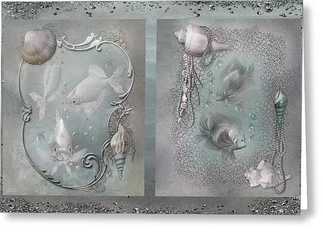 Ocean Moods Greeting Cards - Ocean Moods Greeting Card by Carol Cavalaris