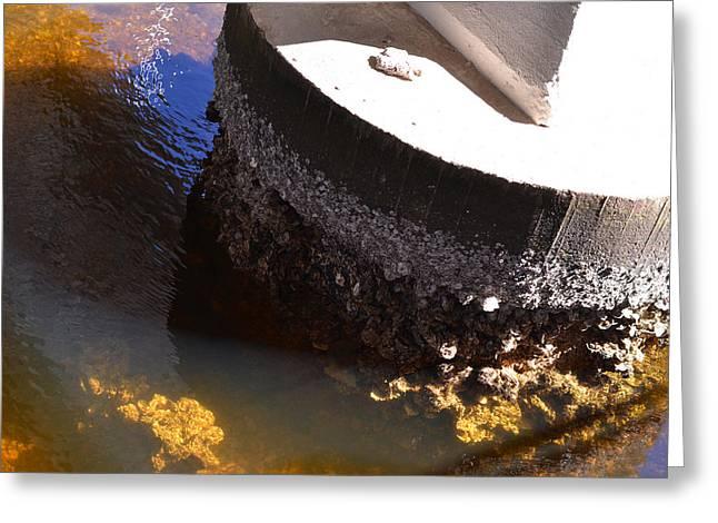 Bridge Greeting Cards - Ocean Photography - Under The Bridge 1 - By Sharon Cummings Greeting Card by Sharon Cummings