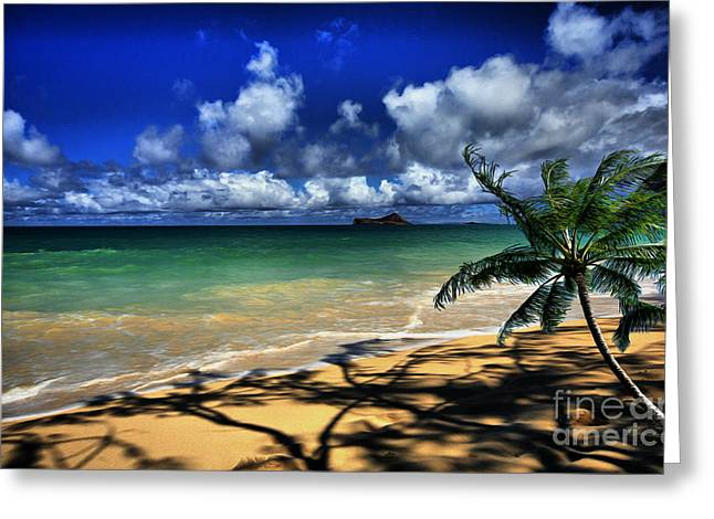 Ocean Images Greeting Cards - Ocean Serenity Greeting Card by Cheryl Young