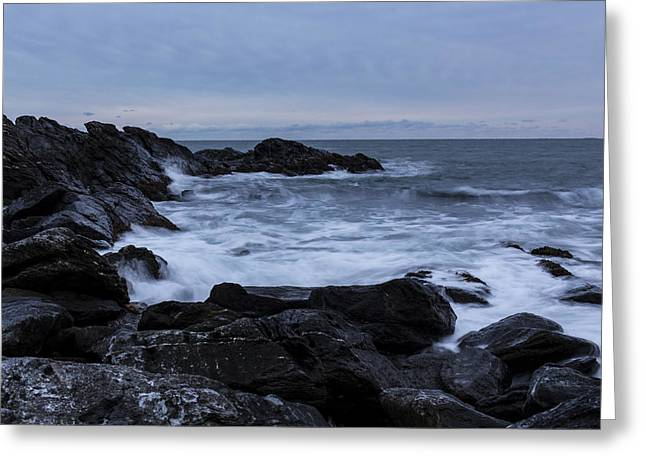 Wildlife Refuge. Greeting Cards - Ocean Size Greeting Card by Andrew Pacheco