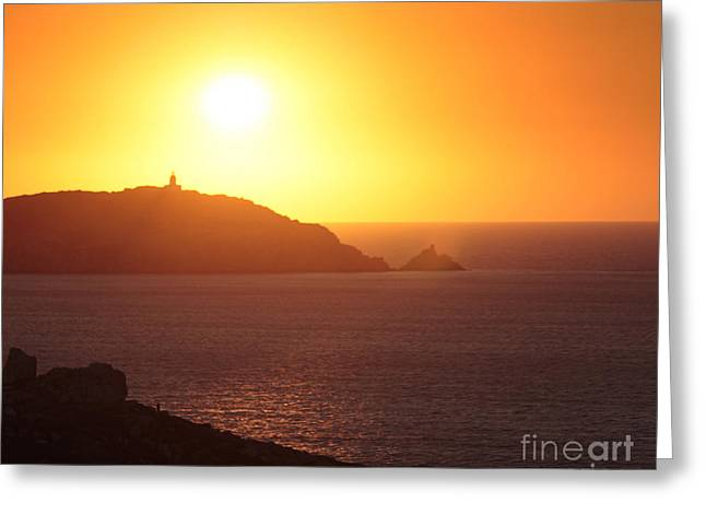 Summer Photos Greeting Cards - Ocean sunset  Greeting Card by Pixel Chimp