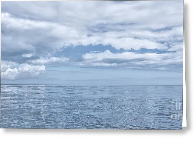 Ocean. Reflection Digital Art Greeting Cards - Ocean Greeting Card by Svetlana Sewell