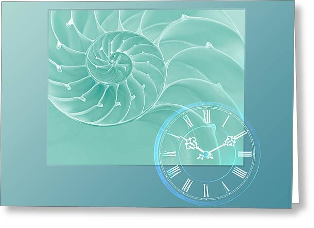 Ocean Images Greeting Cards - Ocean Time Greeting Card by Gill Billington