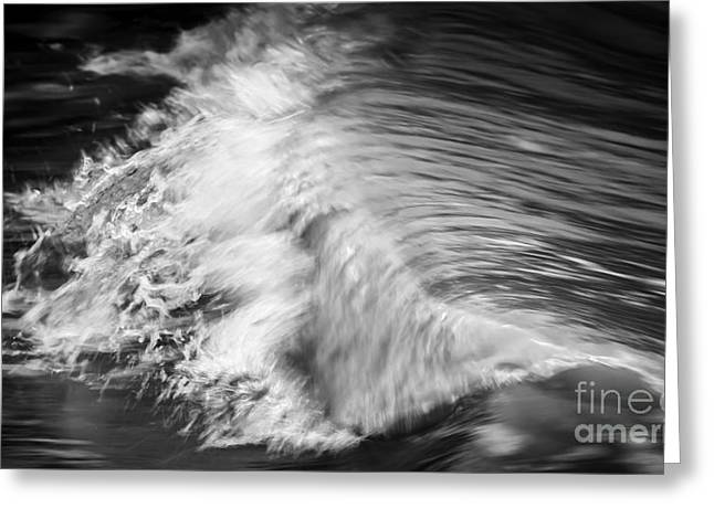Violent Greeting Cards - Ocean wave II Greeting Card by Elena Elisseeva