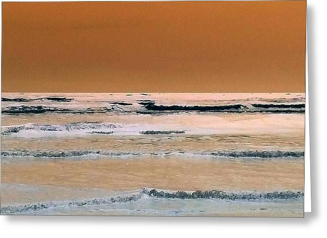Inverted Color Greeting Cards - Ocean1 Greeting Card by Melanie Rader
