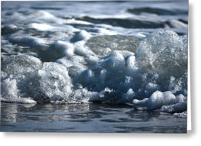 Beach Photography Greeting Cards - Oceans Beauty Abstract Greeting Card by Sandi OReilly
