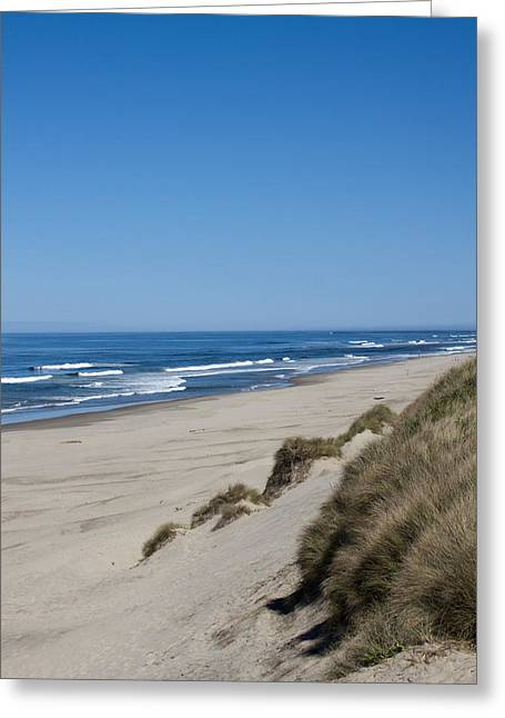 Oregon Dunes National Recreation Area Greeting Cards - Oceanscape - 0017 Greeting Card by S and S Photo