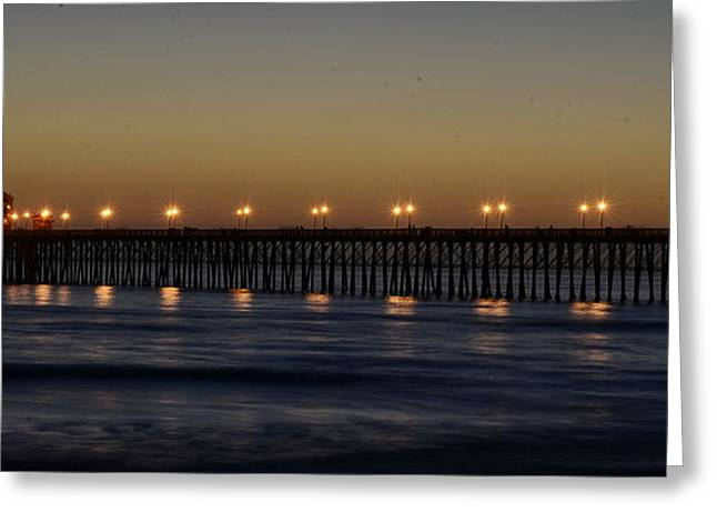 Seau Greeting Cards - Oceanside Pier Greeting Card by Richard Cheski