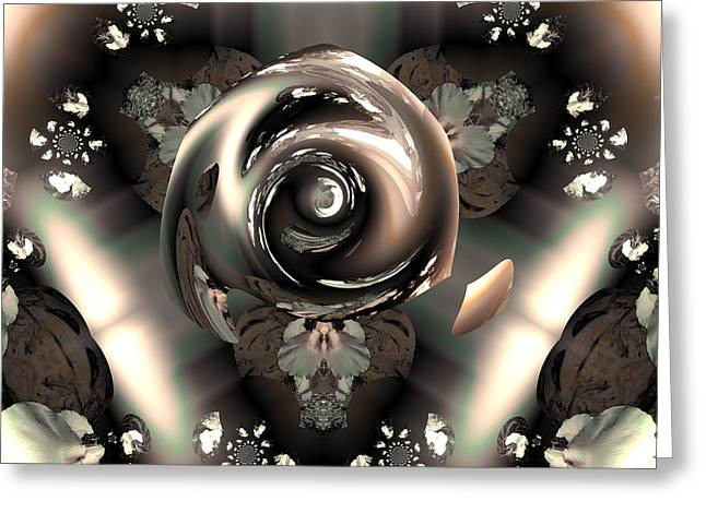 OCF 391 The fragrance of thought Greeting Card by Claude McCoy