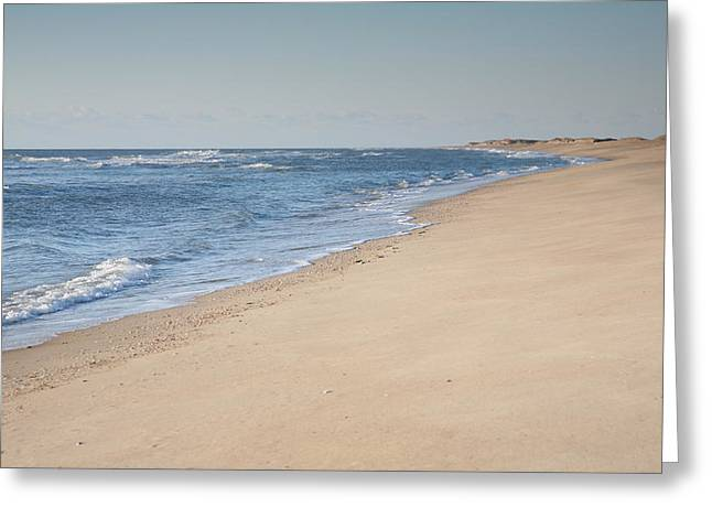 Ocracoke Beach Greeting Card by Steven Ainsworth