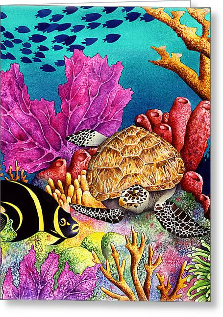 Exotic Fish Greeting Cards - Odd Couple Greeting Card by Carolyn Steele