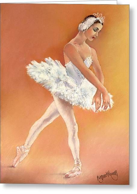 Tchaikovsky Greeting Cards - Odette Greeting Card by Margaret Merry