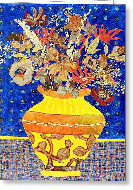 Diane Fine Greeting Cards - Ode to a Grecian Urn Greeting Card by Diane Fine