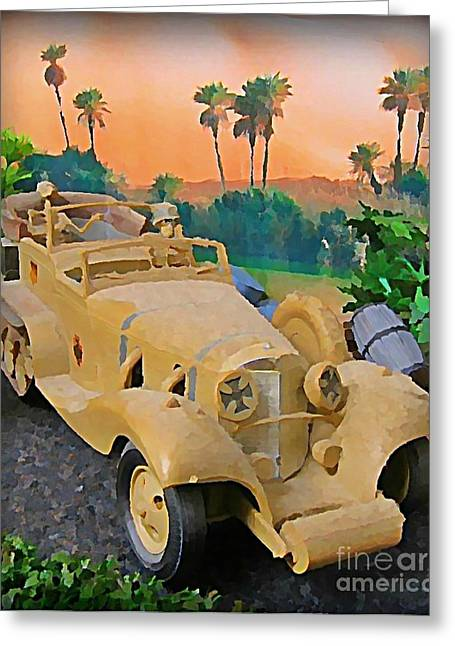 Model Kits Greeting Cards - Ode to Tom Daniel Greeting Card by John Malone